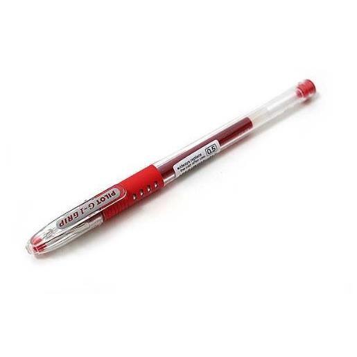 Stylo à bille G1 GRIP pointe fine encre gel rouge