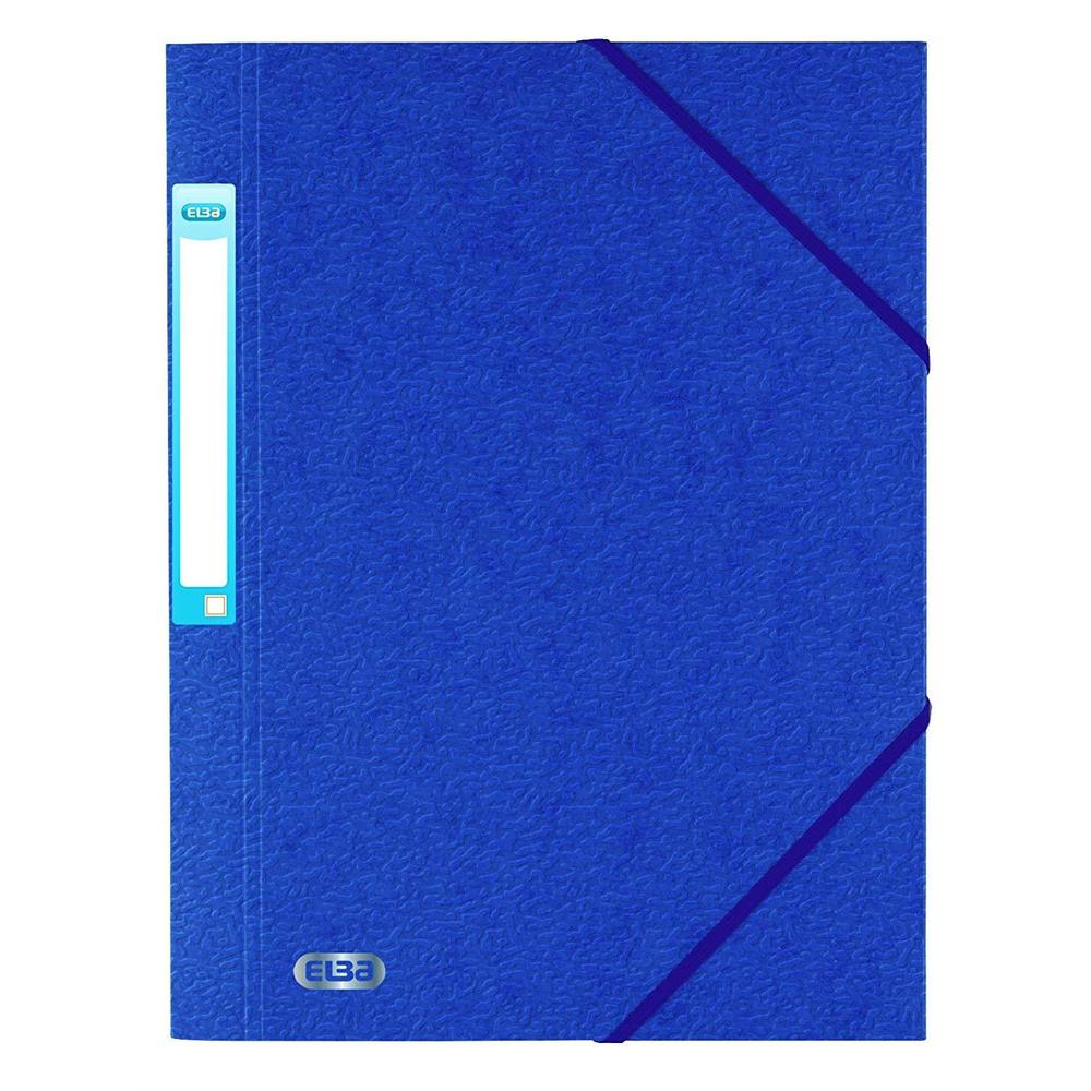 Chemise 3 rabats en carte lustrée 7/10 ème Bleu