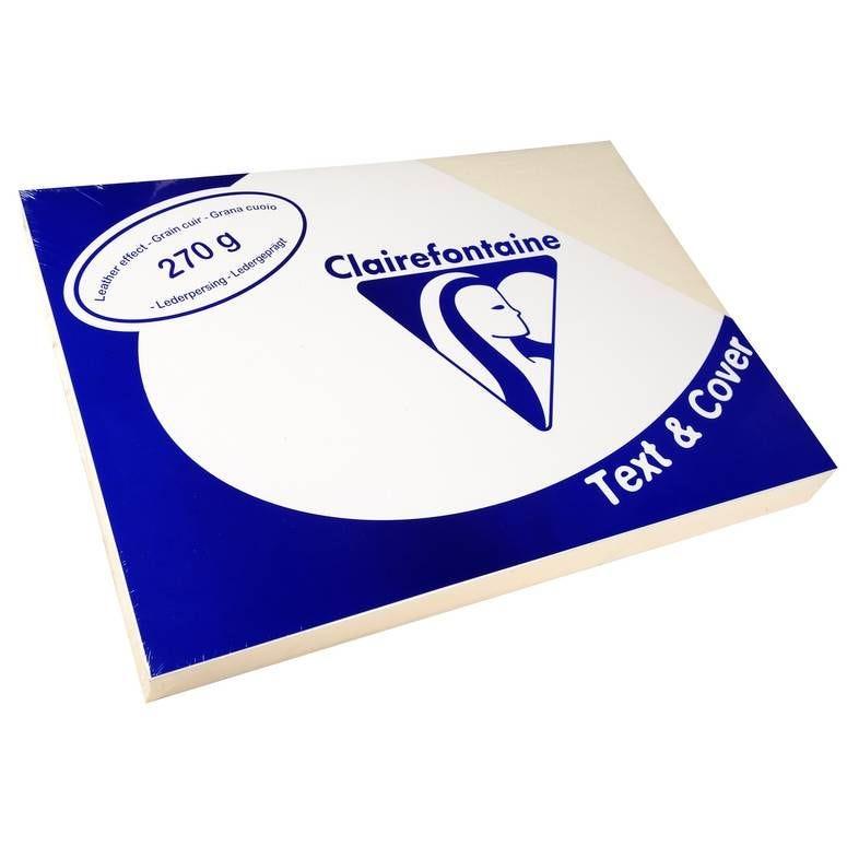 Couvertures reliure Text&Cover Cuir 270g A4 210x297 mm Assorti - Paquet de 100