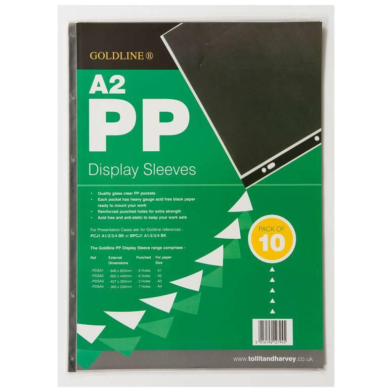 Pochettes .perforées. PP 6 trous A2