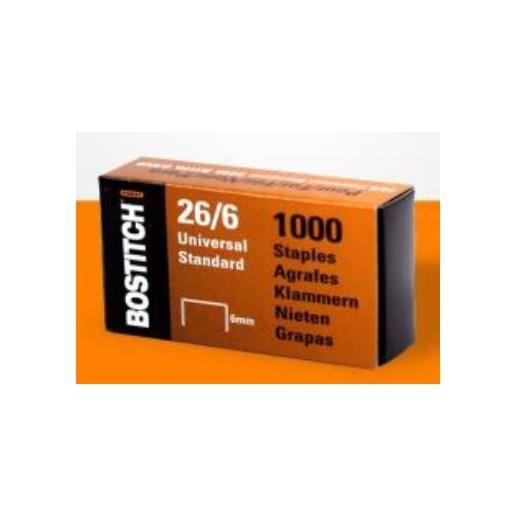 Boite de 1000 Agrafes 26/6 Standard - boîte de 1000