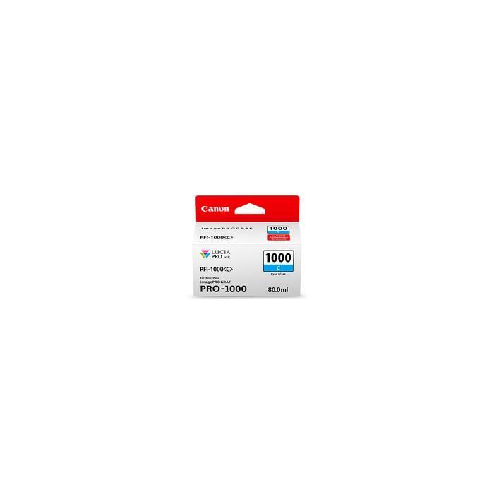 Toner CANON 0547C001 PFI-1000 - Cyan