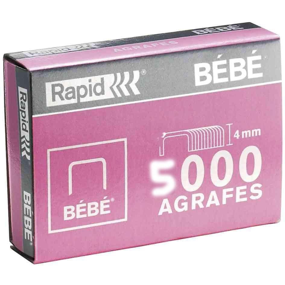 Agrafes BEBE Cuivré 3 x 5000 (photo)