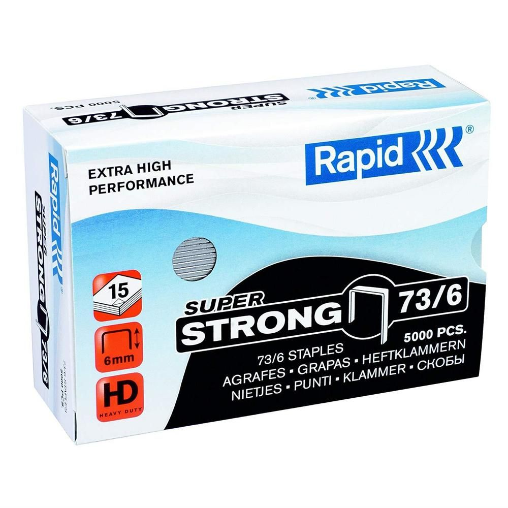 Agrafes 73/6mm 5M G SuperStrong (photo)
