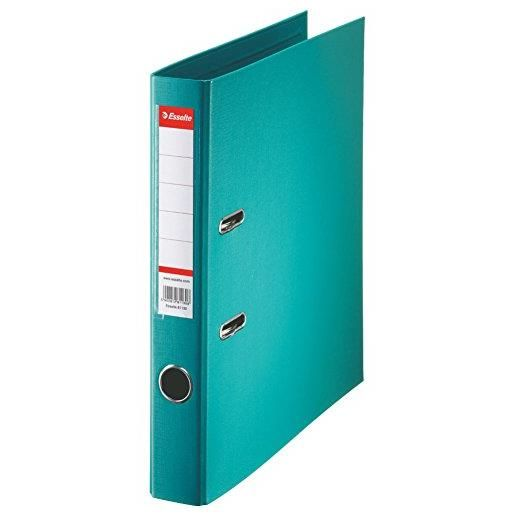 Classeur en plastique Standard, A4, 50 mm, turquoise