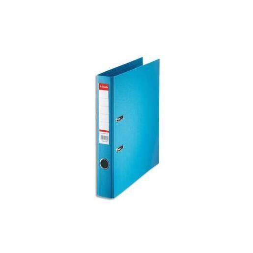 Classeur à levier Standard en polypropylène, dos 50 mm, coloris bleu clair
