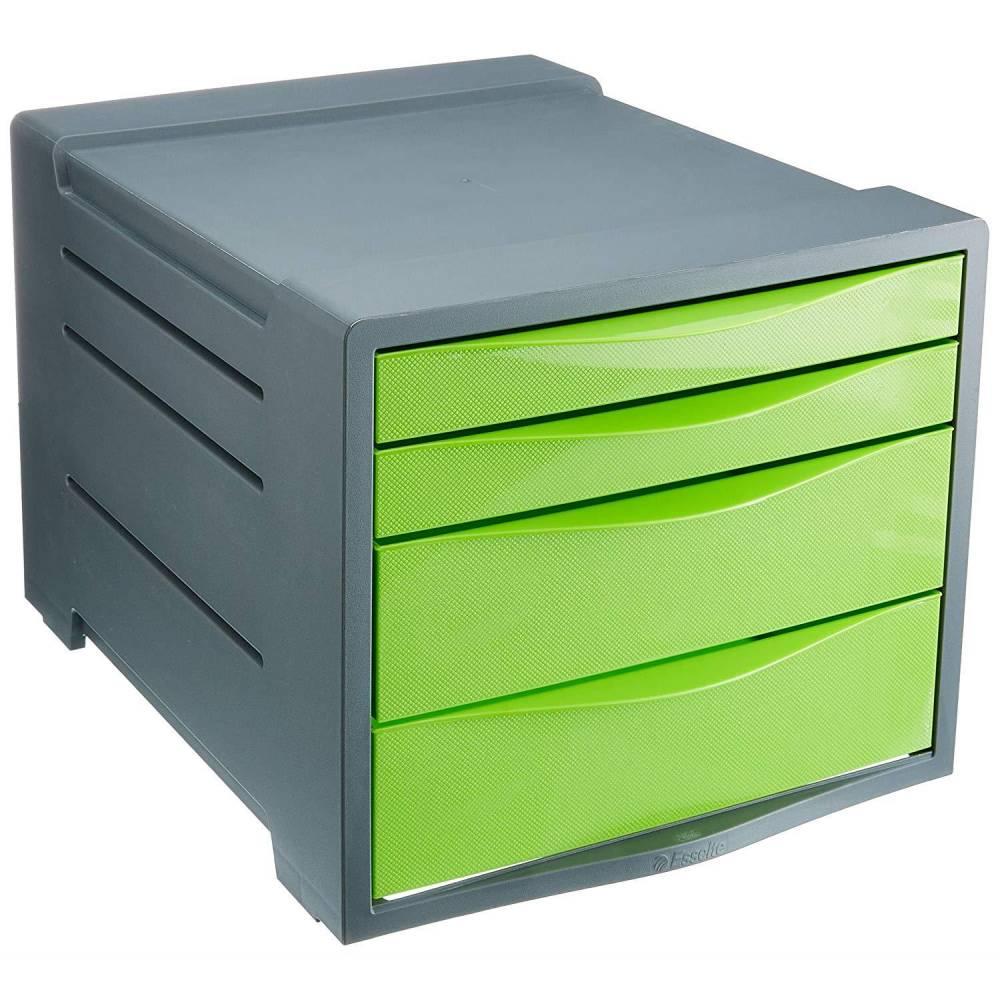 Bloc à 4 tiroirs Vivida vert