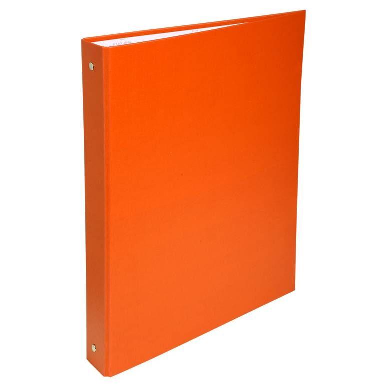 Classeur rembordé polypropylène 4 anneaux 30mm - A4, orange
