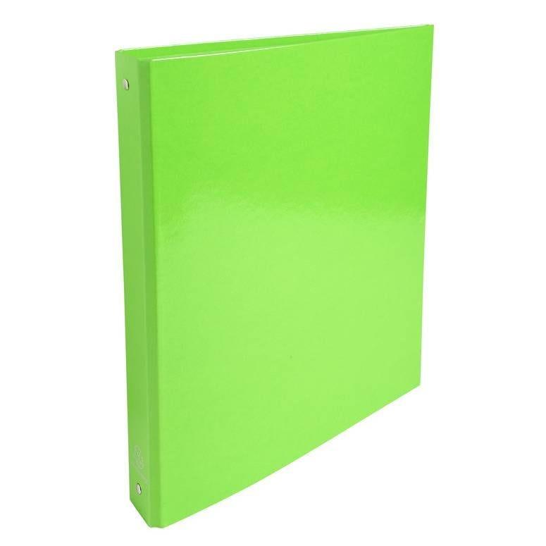 Classeur A4 4 anneaux 30mm Iderama vert anis