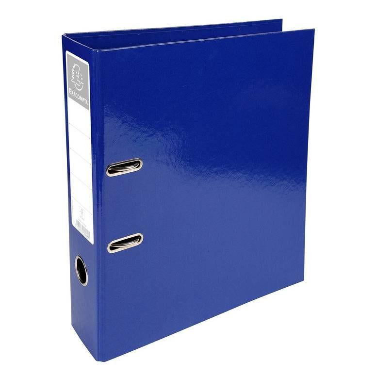 Classeur à levier D70mm Prem'Touch Iderama Bleu