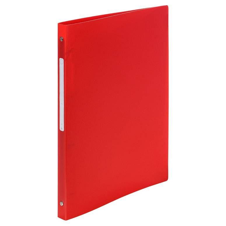 Classeur 2 anneaux 15 mm polypropylène Opaque A4, rouge