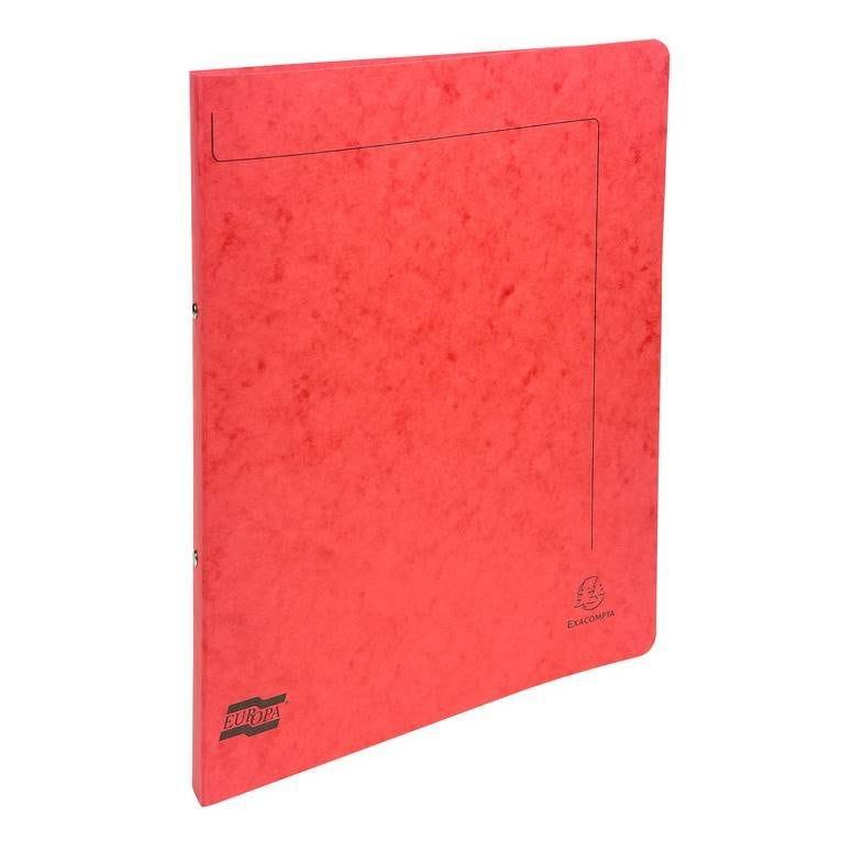 Classeur carte lustrée Nature Future® 2 anneaux 15mm A4 Rouge