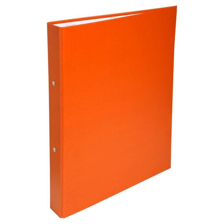 Classeur rembordé polypropylène 2 anneaux 30mm - A4, orange