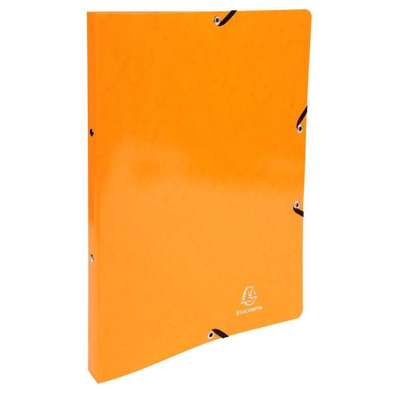 Classeur à élastiques 2 anneaux 15mm Iderama - A4, orange