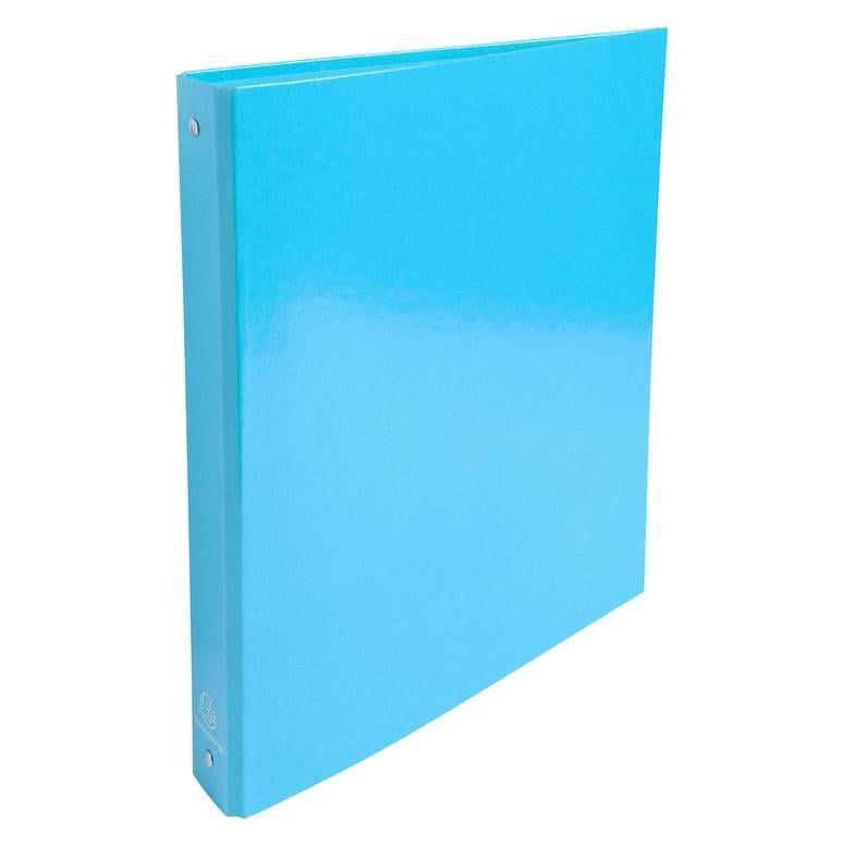 Classeur A4 2 anneaux 30mm Iderama, bleu clair
