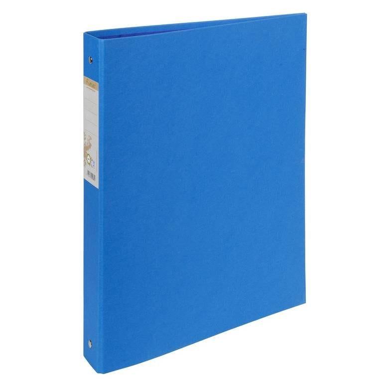 Classeur rembordé papier 2 anneaux 30mm Forever - A4, bleu foncé