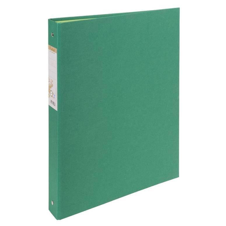 Classeur rembordé papier 2 anneaux 30mm Forever - A4, vert