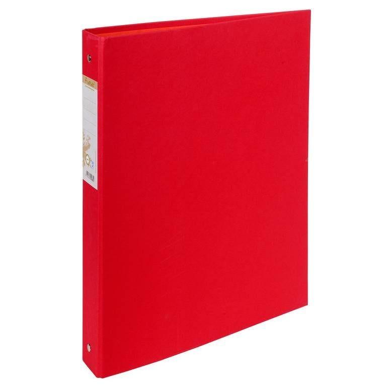 Classeur rembordé papier 2 anneaux 30mm Forever - A4, rouge