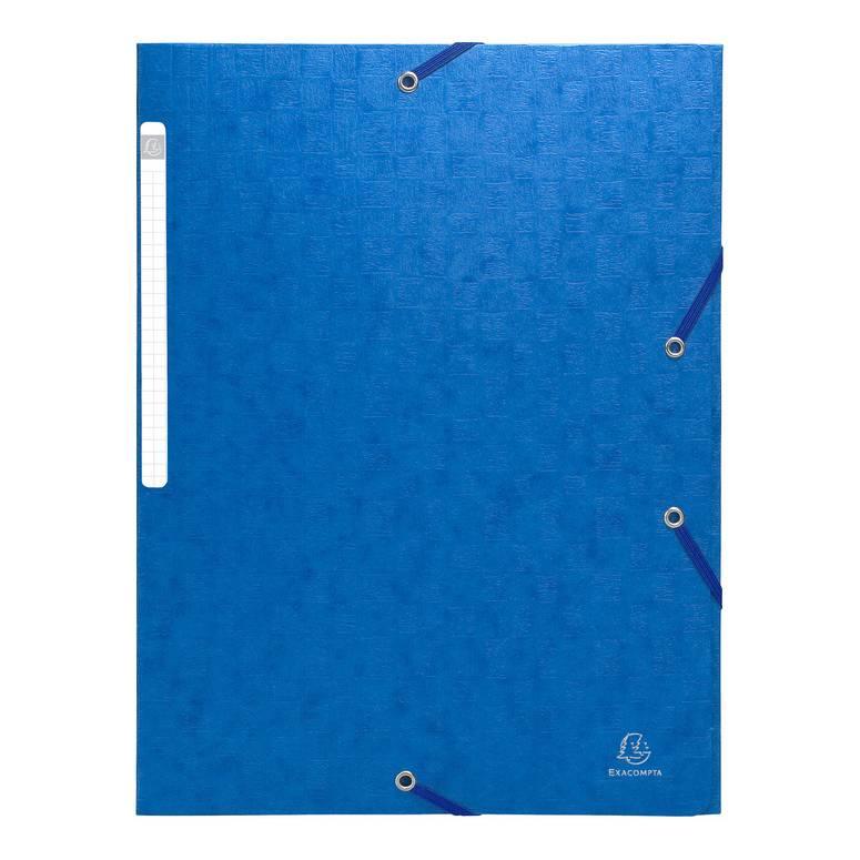 Chemise à élastique Scotten, carton, A4, bleu
