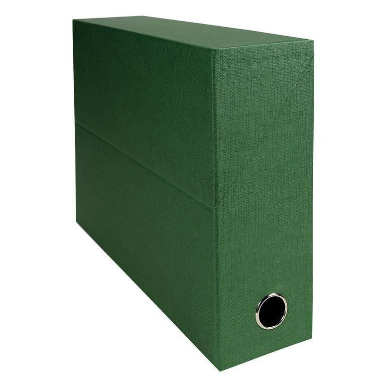 Boîte transfert papier toilé, A4, vert