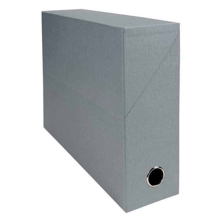 Boîte transfert D90 papier toile gris