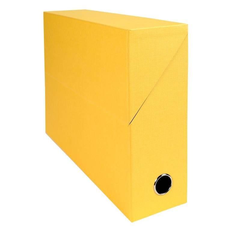 Boîte transfert D90 papier toile jaune