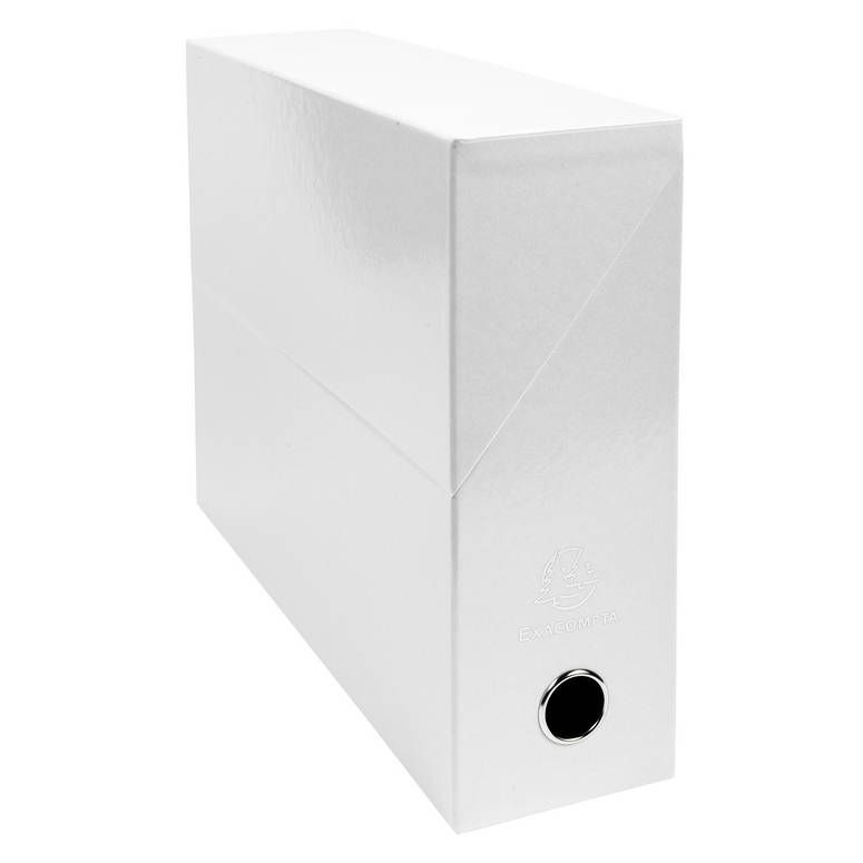 Boîte transfert IDERAMA Pelliculé Brillant Dos de 90 mm Blanc