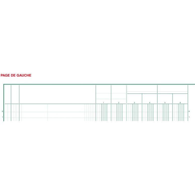 Piqûre 32x25cm 18 colonnes sur 2 pages 33 lignes 80pages