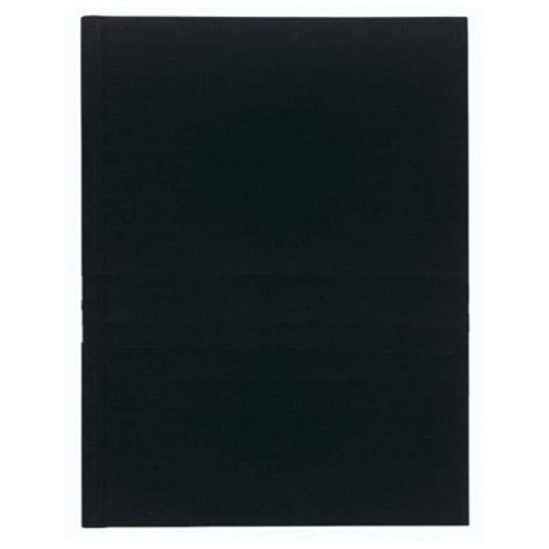 Registre 32x25cm ligné folioté 200 pages Noir