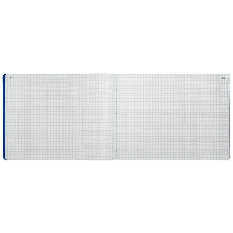 Piqûre 28x38cm 5x5 folioté 80 pages