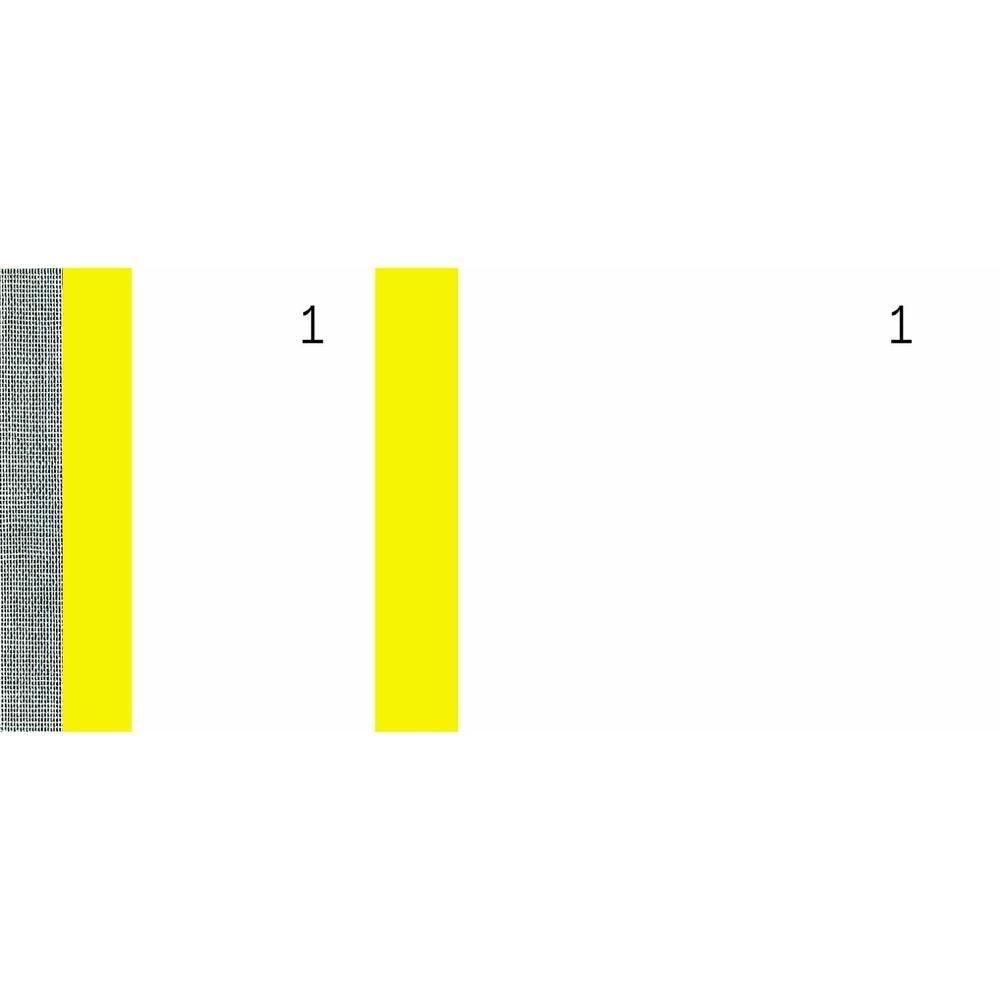 Bloc vendeur 100 feuillets 60 x 135 mm Jaune - par lot de 10