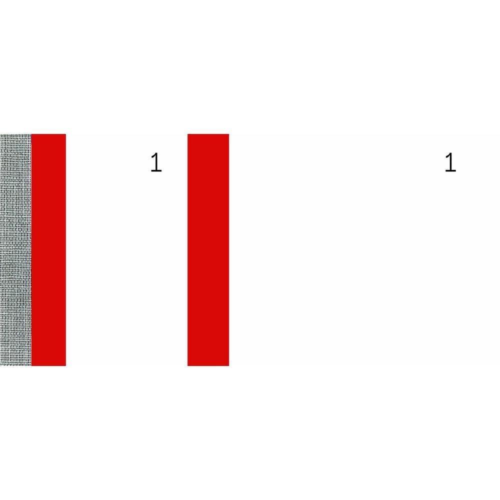 Bloc vendeur 100 feuillets 60x135 mm Rouge PAR 10