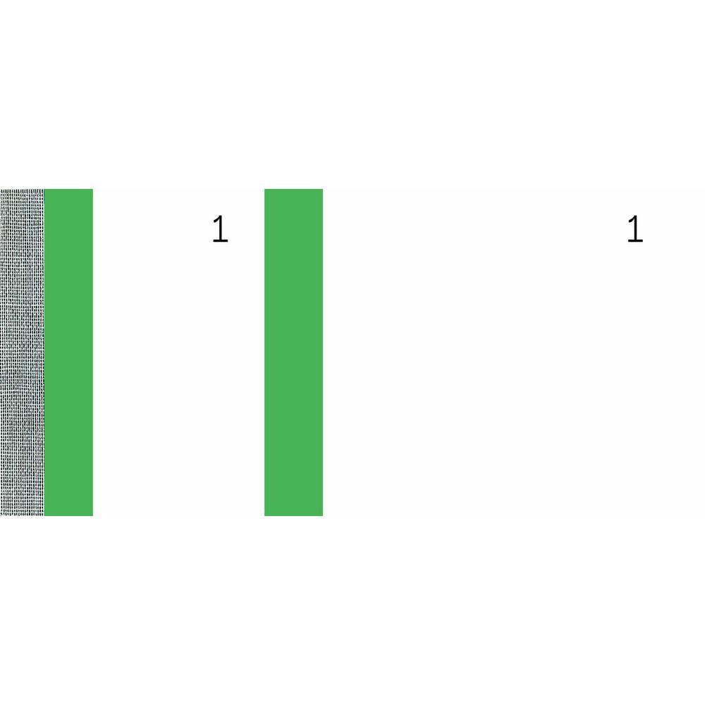 Bloc vendeur 100 feuillets 60 x 135 mm Vert - par lot de 10