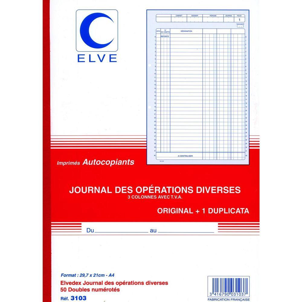 Journal operations diverses tva 297x210 50/2+0