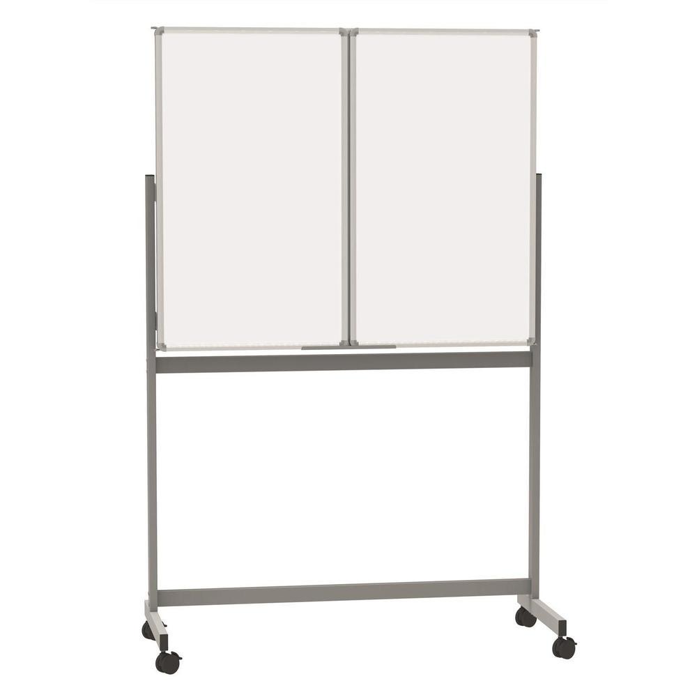 Tableau tryptique mobile MAULstandard, 100x150 cm gris