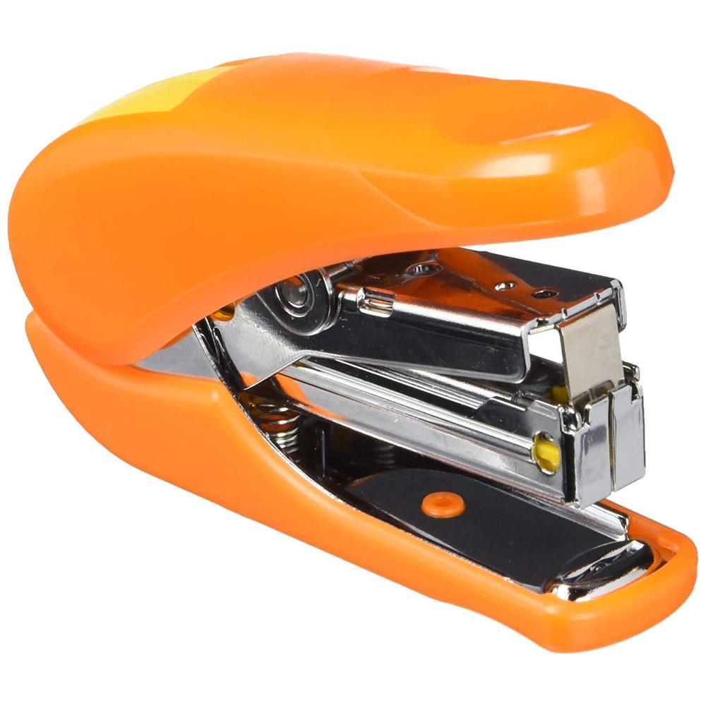 Mini Agrafeuse 10-AH Power Assist 20 Feuilles Avec Agrafes N° 10 Orange