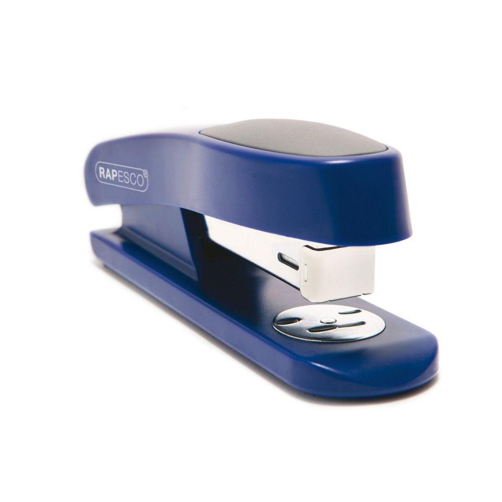 Agrafeuse Demi-Bande Sting Ray 26/6 mm 20 Feuilles Bleu