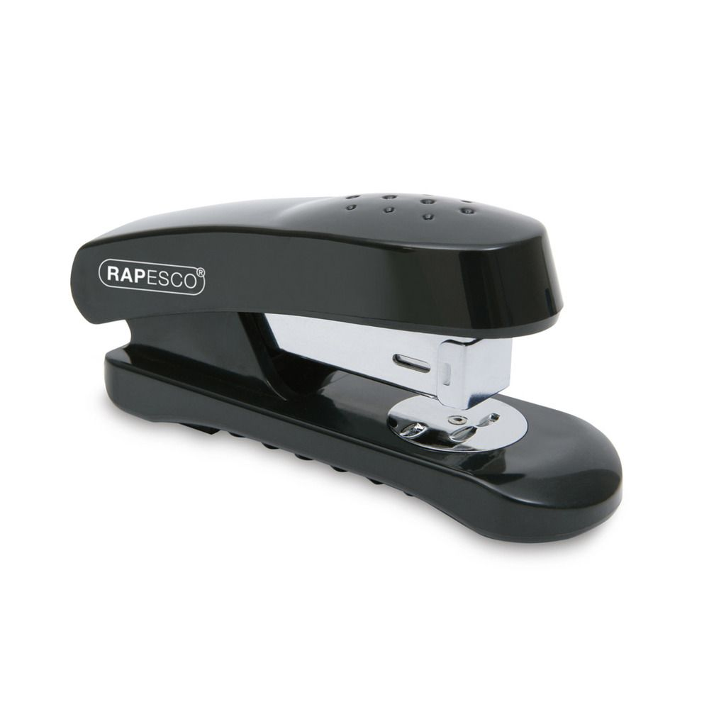 Agrafeuse Demi-Bande Snapper 26/6 mm 20 Feuilles Noir