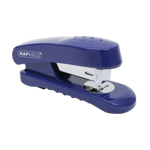 Agrafeuse Demi-Bande Snapper 26/6 mm 20 Feuilles Bleu