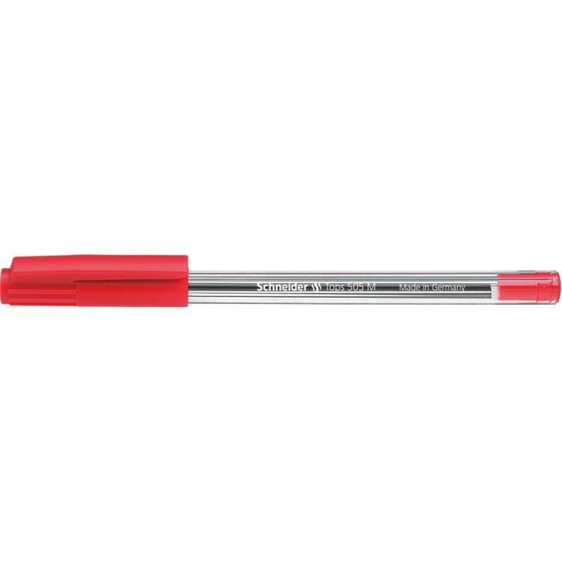 Stylo à bille Tops 505 Pte Moyenne rouge