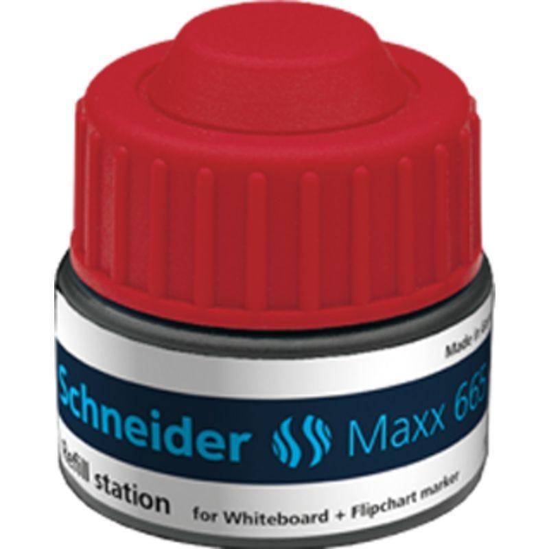 Station de recharge Maxx 665 rouge pour Marqueur tableau blanc