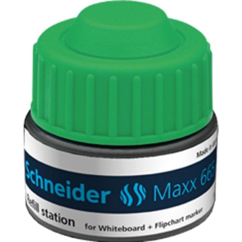 Station de recharge Maxx 665 vert pour Marqueur tableau blanc