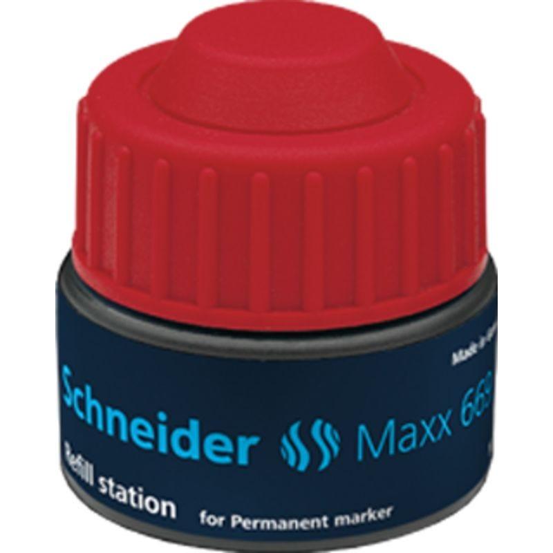 Station de recharge Maxx 669 rouge pour Marqueur permanent