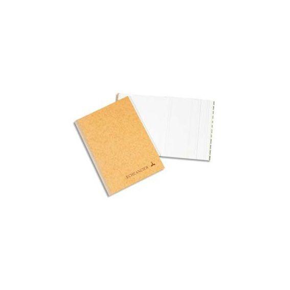 Registre corrige couverture noire 21x29,7 cm 200 pages quadrillé 5x5