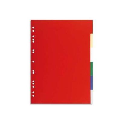 Intercalaire, 6 positions, format A4, coloris assortis 1506E
