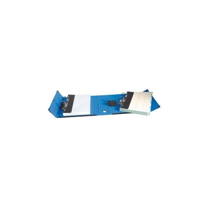 Classeur à deux leviers amovibles Mill-AR bleu ,dos 9.5cm