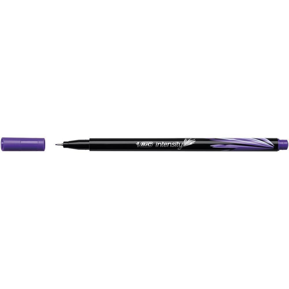 Stylo Feutre Fineliner Intensity Pte Baguée métal Fine 0,4mm Violet