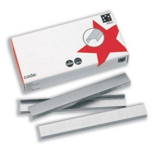 Boîte de 5000 Agrafes N° 10 galvanisé - Capacité d'agrafage 1 mm