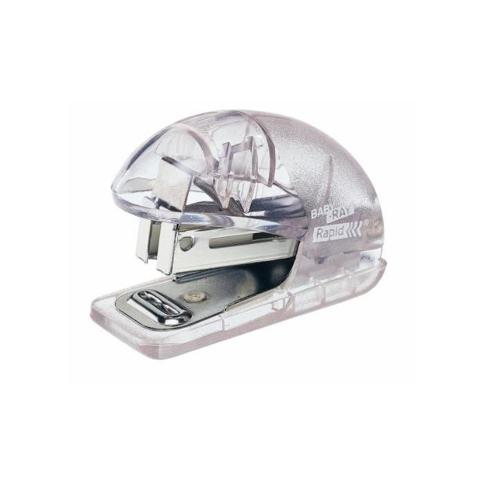 Mini Agrafeuse Baby Ray F4 pour 24/6 26/6 Transparent Glacier
