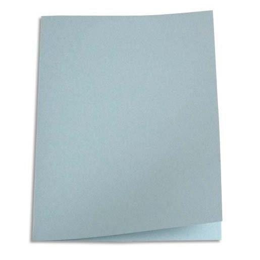 Chemises carte recyclée 180 grammes coloris gris - Paquet de 100